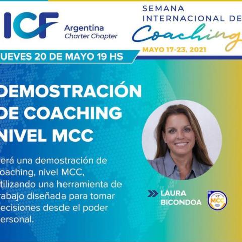 Demostración de Coaching MCC con Laura Bicondoa